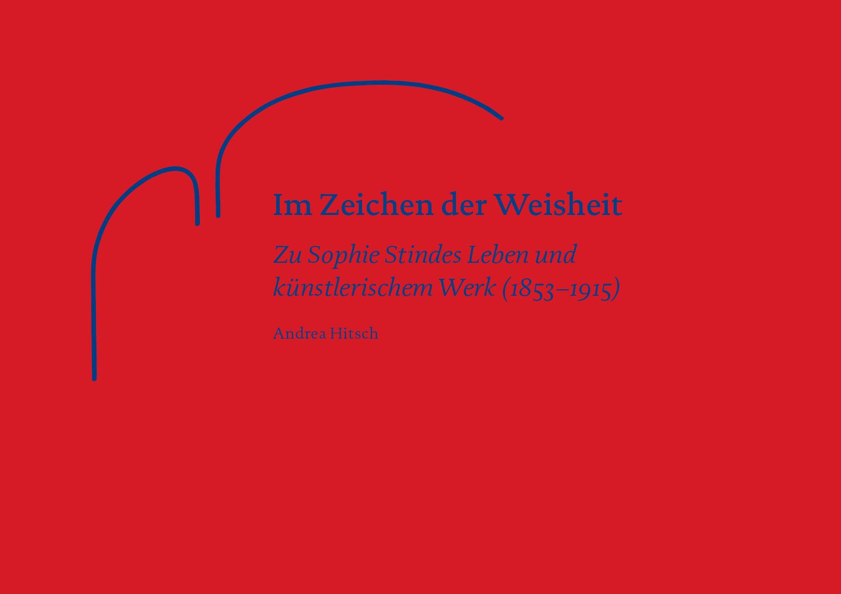 Buchcover «Im Zeichen der Weisheit», herausgegeben von der Wohnbaugenossenschaft Sophie Stinde